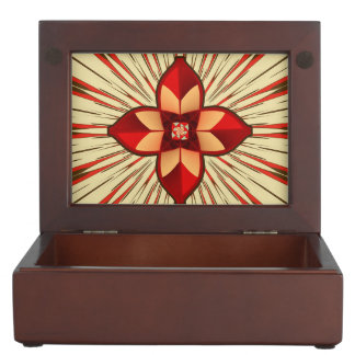 Abstract symbolism keepsake box
