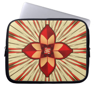 Abstract symbolism laptop sleeve