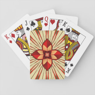Abstract symbolism playing cards