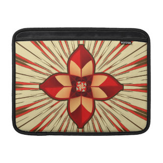 Abstract symbolism sleeve for MacBook air