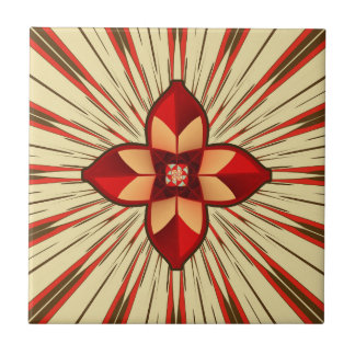 Abstract symbolism tile