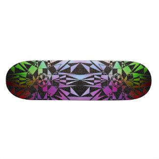 'Abstract Symmetry' Skateboard