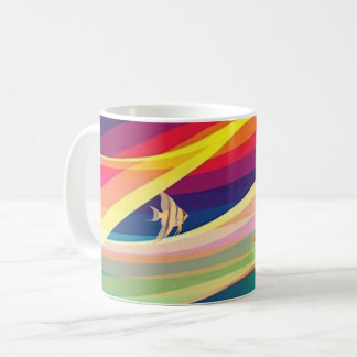 Abstract tank coffee mug