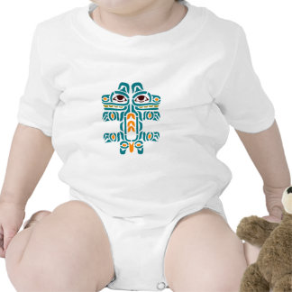 Abstract Tattoo Baby Bodysuit