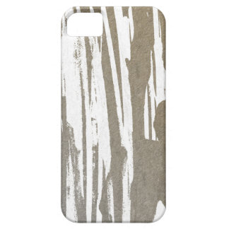 Abstract Taupe Splash Design iPhone 5 Cover