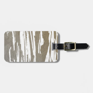Abstract Taupe Splash Design Luggage Tag