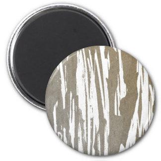 Abstract Taupe Splash Design Magnet