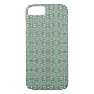 Abstract Teal Phone Case
