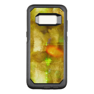 abstract texture color seamless brown, green OtterBox commuter samsung galaxy s8 case
