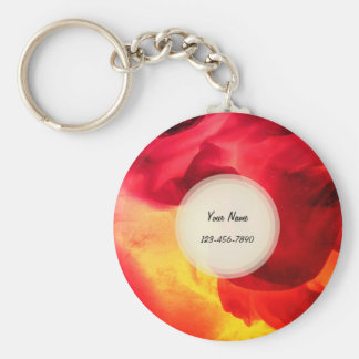Abstract Texture Keychain