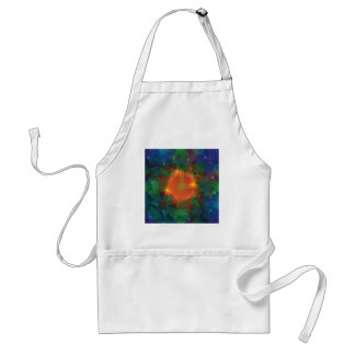 abstract texture standard apron