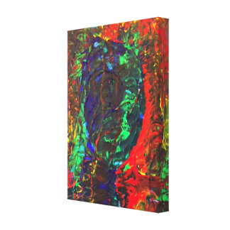 Abstract - The Shadow Canvas Print
