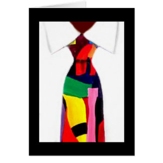 """""""Abstract Tie"""" Card by Alicia L. McDaniel"""