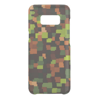 Abstract tiles pattern camouflage army uncommon samsung galaxy s8 case