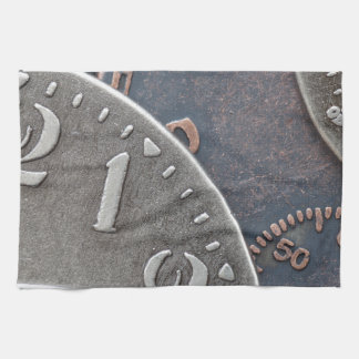 Abstract Time Kitchen Towel
