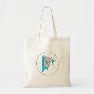 Abstract Tote Budget Tote Bag