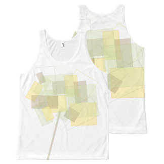 Abstract Tree Art All-Over Printed Unisex Tank