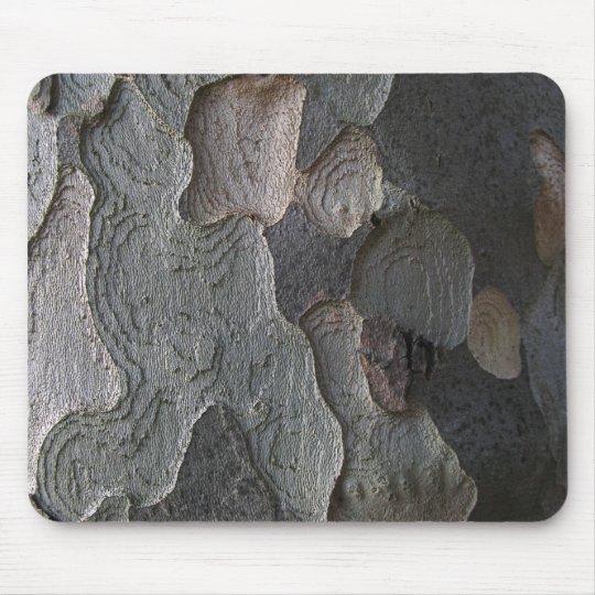 Abstract tree bark macro mousepad