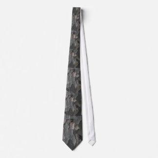 Abstract tree bark macro tie
