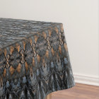 Abstract Tree Bark Pattern Tablecloth