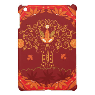 Abstract tree of life. case for the iPad mini