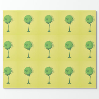 Abstract Tree Wrapping Paper