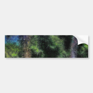 Abstract Trees 933 Bumper Sticker