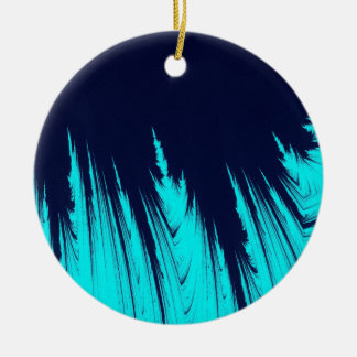 ABSTRACT TREES CERAMIC ORNAMENT