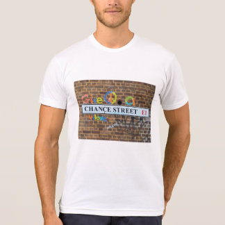 Abstract trendy close up art of graffiti tags T-Shirt