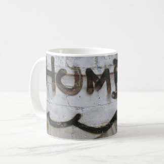 Abstract trendy graffiti close up photographic art coffee mug