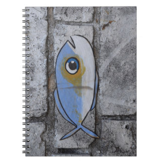 Abstract trendy graffiti close up photographic art note books