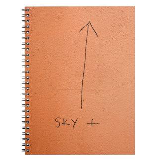 Abstract trendy graffiti close up photographic art notebooks