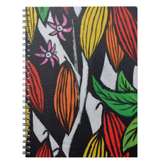 Abstract trendy graffiti close up photographic art notebooks
