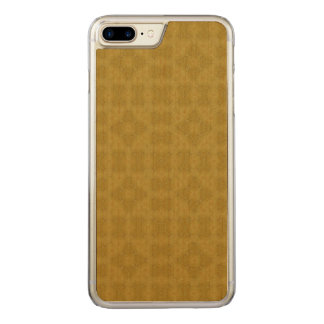 Abstract trendy wood pattern carved iPhone 8 plus/7 plus case
