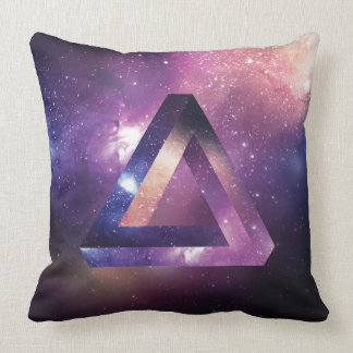 Abstract Triangle pillow. Throw Pillow