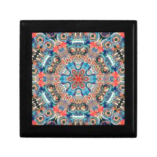 Abstract Tribal Mandala Gift Box