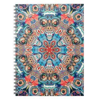 Abstract Tribal Mandala Notebook