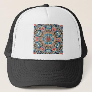 Abstract Tribal Mandala Trucker Hat