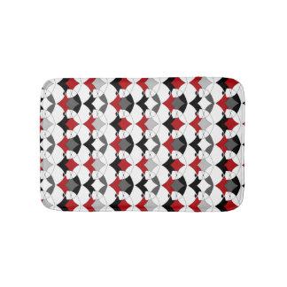 Abstract tribal ornament . bath mat