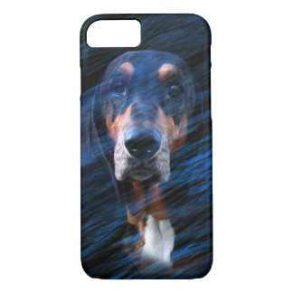 Abstract tricolor Basset Hound Case-Mate iPhone Case