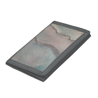 Abstract Trifold Nylon Wallet