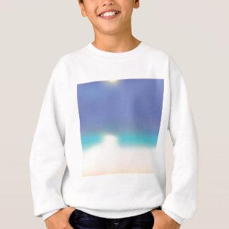 Abstract Tropical beach Sweatshirt