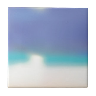 Abstract Tropical beach Tile