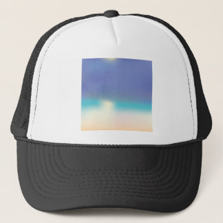 Abstract Tropical beach Trucker Hat