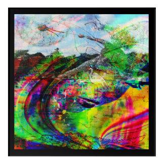 Abstract Tropical Fantasy Acrylic Print