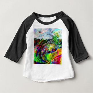 Abstract Tropical Fantasy Baby T-Shirt