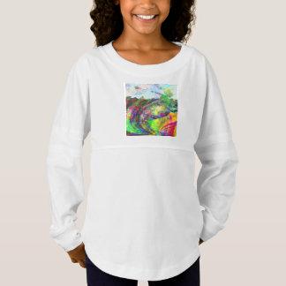 Abstract Tropical Fantasy Jersey Shirt
