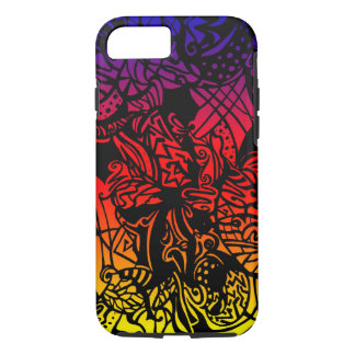 Abstract Tropical Gradient Case-Mate iPhone Case