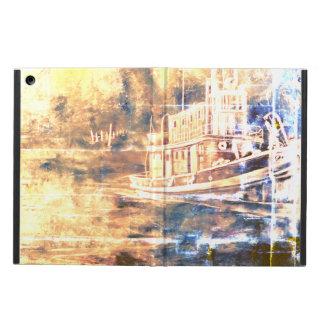 Abstract Tugboat iPad Air cover