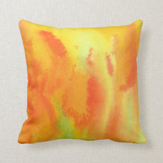 Abstract Tulips Throw Pillow